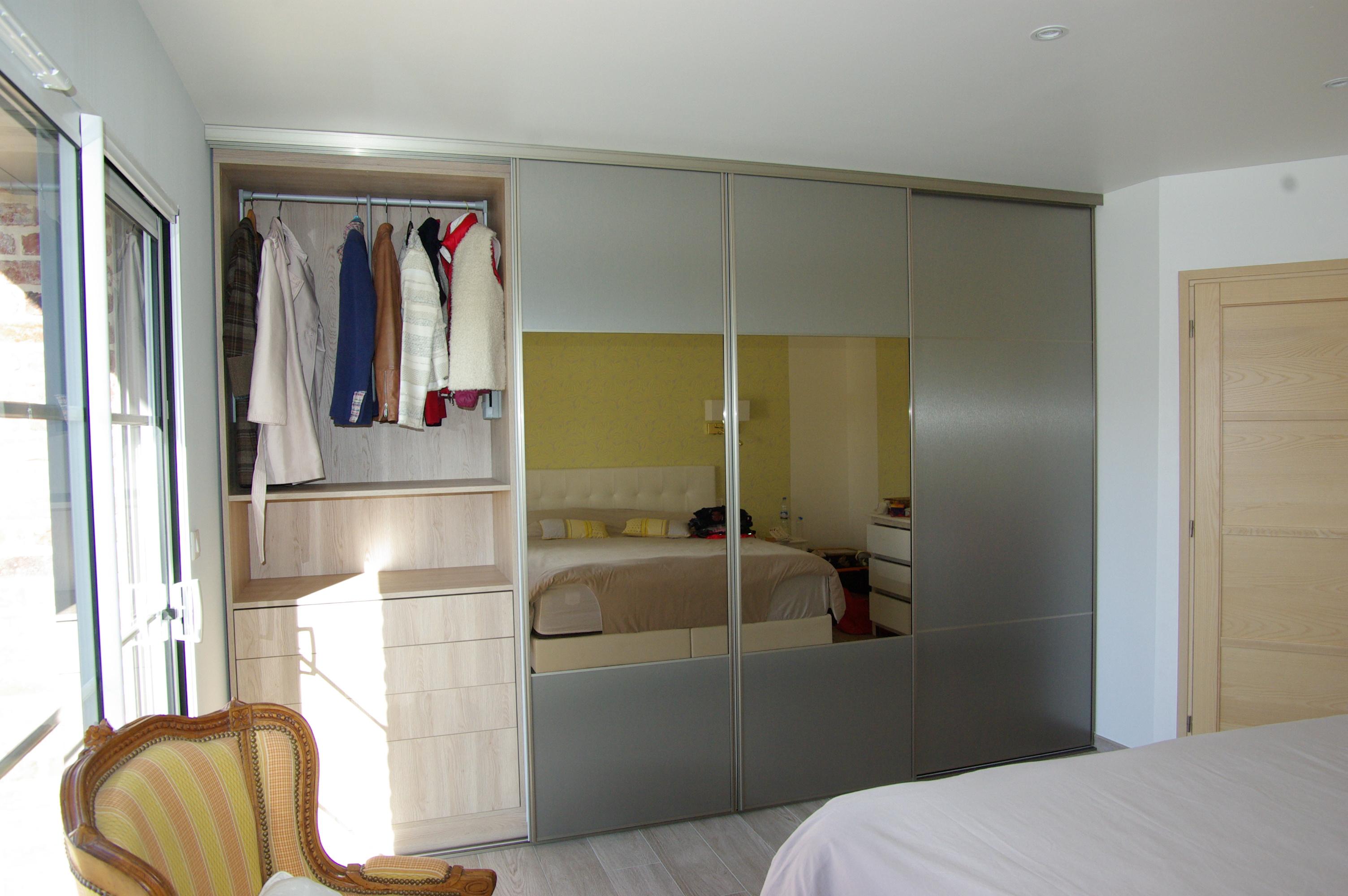 Dressing Sur Mesure Vincennes atelier hersan - cuisiniste - bibliothÈque - dressing